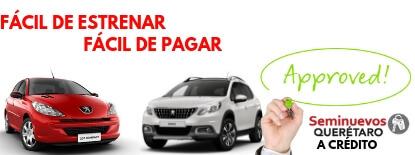 Autos seminuevos Peugeot a credito en queretaro